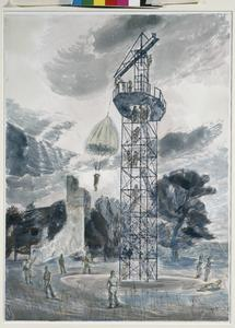 Jumping Tower for the Training of Polish Parachute Troops at Largo, Fife