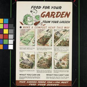 Food for Your Garden from Your Garden