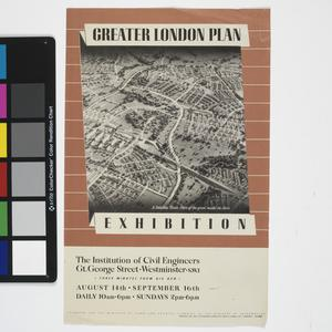 Greater London Plan Exhibition
