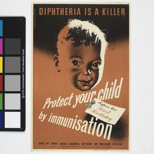 Diphtheria is a Killer - Protect Your Child By Immunisation