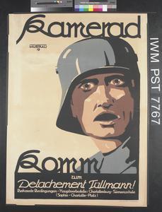Kamerad - Komm zum Detachement Tüllmann! [Comrade - Join the Tüllman Detachment!]