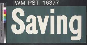 Keep on Saving