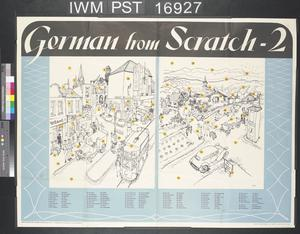 German from Scratch - Number One (recto) German from Scratch - Two (verso)