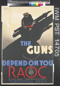 It All Depends on Me (recto) The Guns Depend on You (verso)