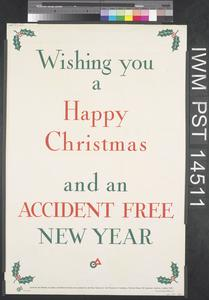 Percy Vere - Number 18 (recto) Wishing You a Happy Christmas and an Accident Free New Year (verso)