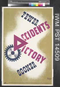 Percy Vere - Number 16 (recto) Fewer Accidents - Victory Sooner (verso)