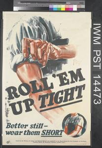 Roll 'Em Up Tight (recto) Keep That Rest Up (verso)
