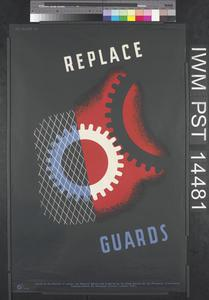 Replace Guards (recto) Less Accidents (verso)