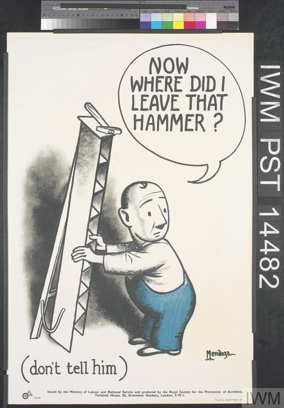 Now Where Did I Leave That Hammer? (recto) Your First Accident (verso)