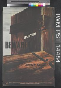 Beware Splinters (recto) Stack (verso)