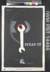 Scrap it (recto) Splinters are Poisoned Arrows (verso)