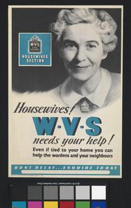 Housewives! WVS Needs Your Help!