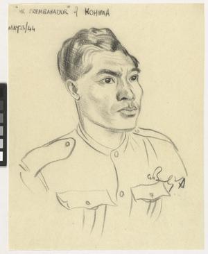 """""""Mr Prembahadur"""" of Kohima, MBE"""