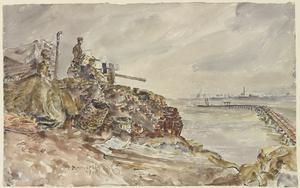 Defence of the Nijmegen Bridges against Waterborne Attack