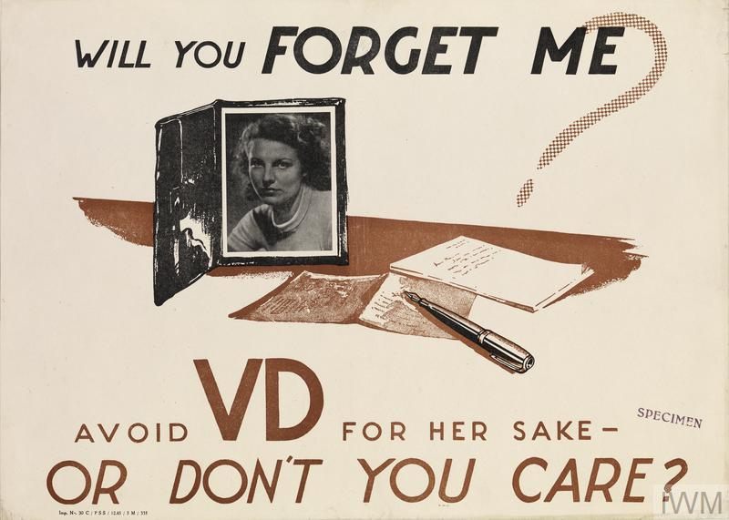 Will You Forget Me? Avoid VD For Her Sake - Or Don't You Care?