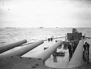 LORD HALIFAX LEAVES FOR THE USA IN HMS KING GEORGE V, JANUARY 1941