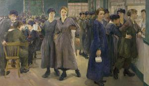 Women's Canteen at Phoenix Works, Bradford