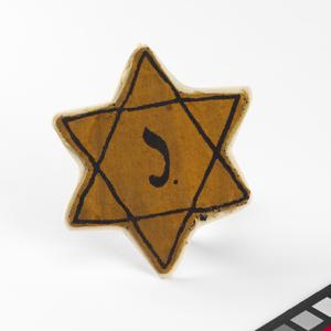 badge, Belgian, Star of David