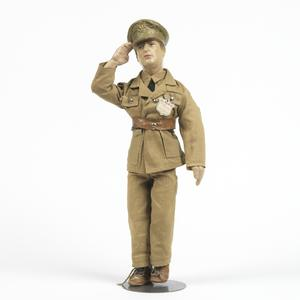 Patriotic/Propoganda doll of General MacArthur