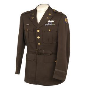 Jacket, Service Dress: 1st Lieutenant, 8th USAAF