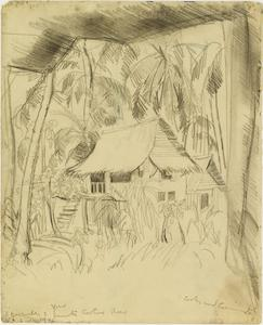 Near the Prison Camp, Singapore, 3 December 1942