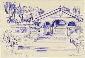 Colonel Banu's Beach House, Changi Beach, Singapore, 20 July 1944