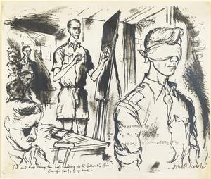 Demonstration of Thought Transference (ESP), Changi Gaol, Singapore, 1945. Sidney Piddington and Russell Braddon.