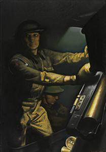 Members of a Home Guard Ack-Ack Gun Team, September 1943