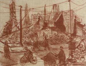 Ruins in Hamburg: The Dock Area