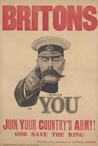WWI recruitment poster