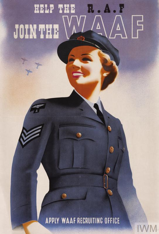 Help the RAF - Join the WAAF