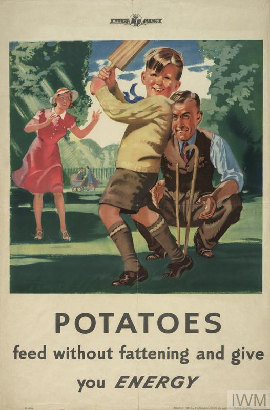 Potatoes - Feed Without Fattening and Give You Energy