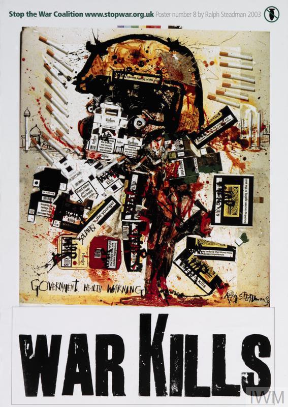 Stop the War Coalition Poster Number 8 [War Kills]