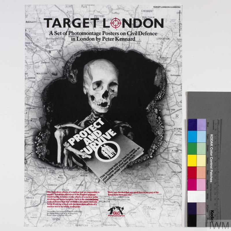 Title Page, Target London 1, A Set of Photomontage Posters on Civil Defence in London
