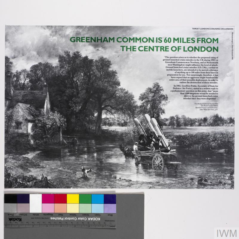 Cruising on London, Target London 5, A Set of Photomontage Posters on Civil Defence in London