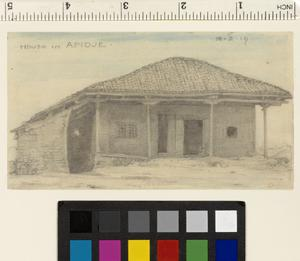 House in Apidje; Thirty-six Drawings of Salonika and Macedonia
