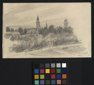 Hesdin - From the Summer-house shared by Sevenoaks and myself