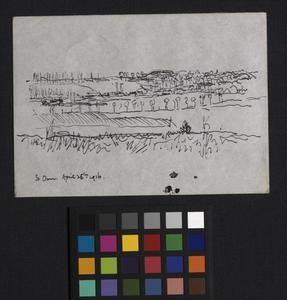 Landscape sketch - St Omer
