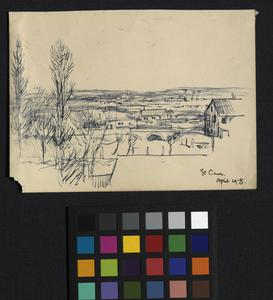 Landscape - from the Infantry Barracks, St Omer
