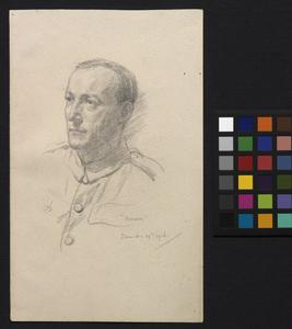 'Pernam' Fellowes, of the Scouts, Artists' Rifles