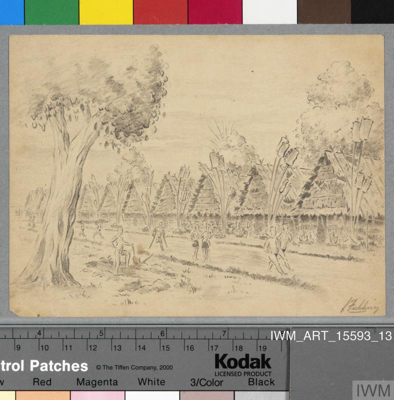 Twenty-one Sketches of POW Life in Thailand 1942-45