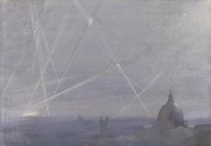 An October Night Raid on London, 1917: Seen from the Royal College of Science