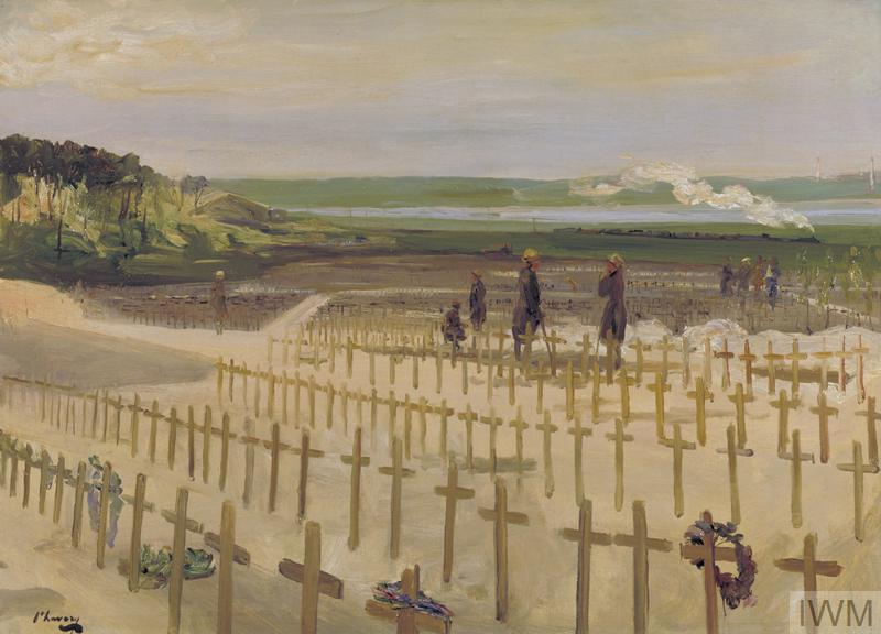 The Cemetery, Etaples, 1919