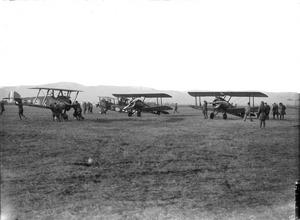 THE ROYAL FLYING CORPS ON THE ITALIAN FRONT, 1917-1918