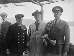 ATLANTIC CONFERENCE BETWEEN PRIME MINISTER WINSTON CHURCHILL AND PRESIDENT FRANKLIN D ROOSEVELT 10 AUGUST 1941