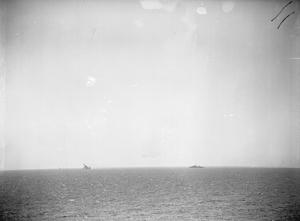 THE SINKING OF HMS EAGLE, MALTA, 11 AUGUST 1942