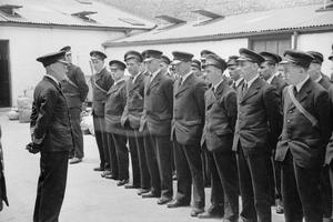 THE MERCHANT NAVY TRAINING ESTABLISHMENT, HMS GORDON, GRAVESEND, KENT, ENGLAND, JUNE 1941