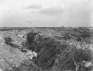 A German trench near Loos September 1915