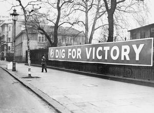 MINISTRY OF INFORMATION CAMPAIGN POSTERS, LONDON, UK, 1940