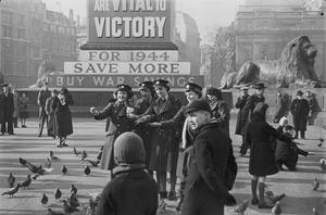 LONDON IN THE FIFTH YEAR OF WAR: EVERYDAY LIFE IN LONDON, 1944
